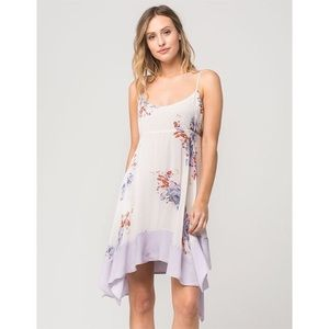 Free People Faded Bloom Swing Dress large
